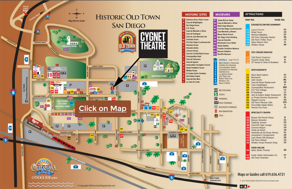 Old Town Map   CygTheatre