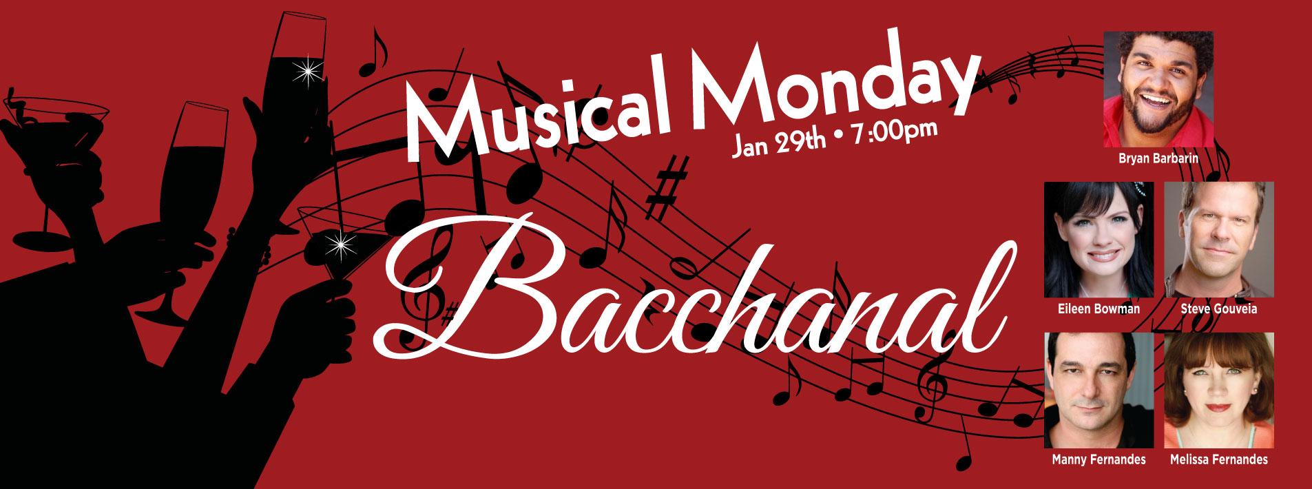 Musical Monday: Bacchanal